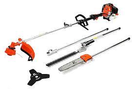 p1pe p5200mt 52cc petrol garden multi tool hedge trimmer brush cutter lopper