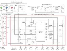 spa thermostat schematics schematic