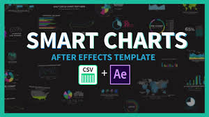 Smart Charts Infographics After Effects Template