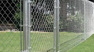 chain link fence gate install