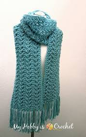 Crochet Patterns For Scarves Unique Go With The Flow Super Scarf Free Crochet Pattern Creativity