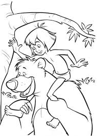 Small Picture Jungle Book Coloring Pages Coloring Page For Kids Kids Coloring