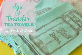 Lark & Lola: Dye & Transfer Tea Towels