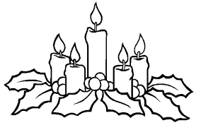Small Picture Christmas Candle Shine to Our Heart Coloring Pages Download