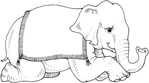 Small Picture Circus Elephant coloring page Free Printable Coloring Pages
