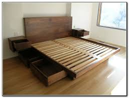 diy bedroom furniture kits. diy bed frame with storage drawers - beds : home furniture design bedroom kits c