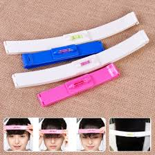 new 1set diy professional bangs hair cutting clip hairstyle trim tool hair ruler 1 of 5free