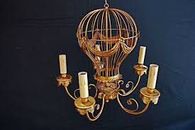 a very nice and so cut montgolfier chandelier perfect for a girl bedroom