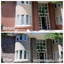 exterior brick cleaning toronto. gray is one of our most requested brick stain colors heading into spring. exterior cleaning toronto g