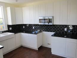 white and black kitchen backsplashes. Beautiful Kitchen 75 Kitchen Backsplash Ideas For 2018 Tile Glmetal Etc Black  Intended White And Backsplashes K
