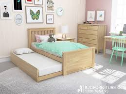 Modern Bedroom Furniture Melbourne Dandenong Single Bed Trundle Kids Beds B2c Furniture