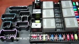 2003 ford expedition or navigator fuse central junction box 2005 Lincoln Navigator Fuse Box Diagram at 98 Lincoln Navigator Cambiar Fuse Box
