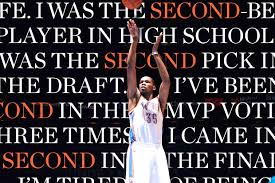 Kevin Durant Quotes Cool Kevin Durant Is Tired Of Second Place On New Sports Illustrated