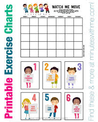 Day By Day Exercise Chart 5 Fitness Tips For Kids Simply Being Mommy