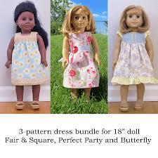 Doll Patterns Classy Doll Pattern Bundle 48 Dress Pattern Pack Tie Dye Diva Patterns