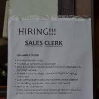 photo banana peel sales clerk job boracaystories_zpsgohdyrfpjpg sales clerk jobs