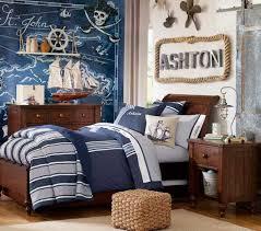 nautical bedroom decor. white and blue stripes ocean map nautical bedroom decor c