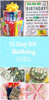 15 Easy Diy Birthday Gifts | Tip Junkie with Birthday Gifts Diy 2603