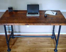 custom wood office furniture. Industrial Pipe Desk, Reclaimed Wood Office Furniture, Custom Furniture O
