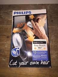 philips diy hair clipper with rotating head used few times millbrook oos