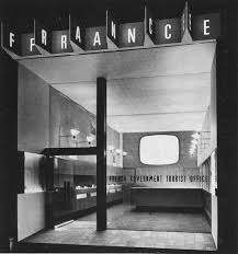 nice person office. Front Of The French Government Tourist Office In London, Designers Charlotte Perriand (nice Person) And Ernő Goldfinger (not Nice Person, \u201cGoldfinger Was Person