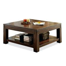 riverside coffee table riverside furniture square coffee table with fixed bottom shelf and block legs riverside