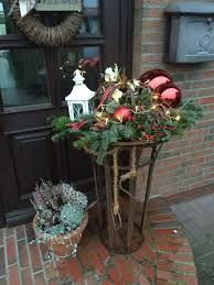 Xmas Deko Schale Rostig Weihnachtsdeko Fensterbank
