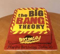 Big Bang Theory Birthday Cake Local Lancashire 2 Chefs Passion