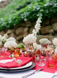 Italian Table Setting State Fair Inspired Barn Wedding Table Setting