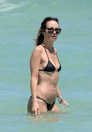 catt-sadler-in-bikini-on-the-beach-in ...