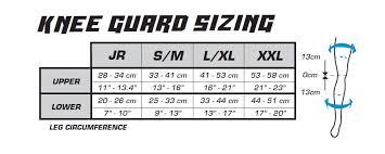 Interpretive Knee Size Chart 2019