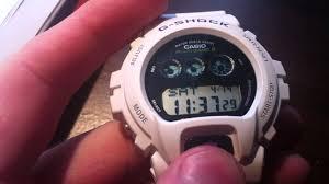 G Shock 3230 Auto Light Auto Illumination On The G Shock Casio Gw 6900a 7cr