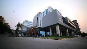 modern office building. Modern Office Building And Moving Crowd India Stock Video Footage - Videoblocks A