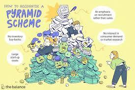 Mlm Hierarchy Chart Pyramid Scheme Vs Mlm Multilevel Marketing