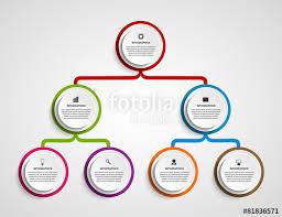 Chart design ideas Powerpoint Infographic Design Organization Chart Template Fotoliacom Infographic Design Organization Chart Template