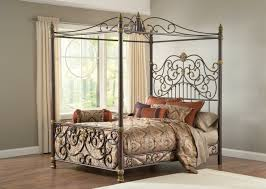 Amazing Iron Canopy Bed with Brass Beds Of Virginiabr Jessica Iron ...