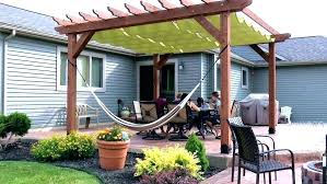 shade sails outdoor canopy best pergola cloth lovely furniture canopies fresh diy
