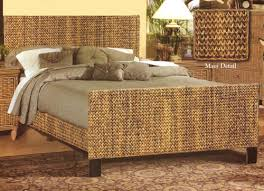 wicker bed frame. Unique Wicker The Maui Style Is The Only One Available As A Complete Bed Throughout Wicker Bed Frame