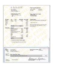 Free Paystub Templates Sample Paycheck Stubs Enderrealtyparkco 23