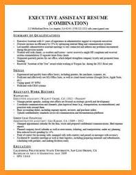 Administrative Assistant Summary Resumes 9 10 Administrative Assistant Resume Sample Loginnelkriver Com