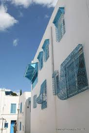 Sidi Bou Said Fensterdekorationen Tunesien