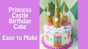 Make A Princess Castle Birthday Cake With Jill Youtube