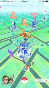 raid battles and gyms