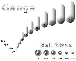 Plug Sizes For Ears Chart 14 High Quality Gauge Piercing Size Chart