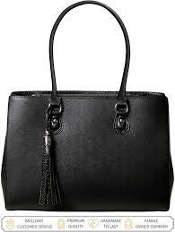 Best Designer Tote Bags For Work 2017 Laptop Tote Bag For Women Luxury Designer Computer Bag Handmade Vegan Leather Laptop Shoulder Bag Multi Pocket 13 Inch Computer Purse Laptop