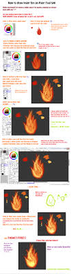 Paint Tool SAI Fire Tutorial by MonstarGaby on DeviantArt