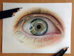 Drawingcolor Eye Color Pencil Drawing By Atomiccircus On Deviantart Art