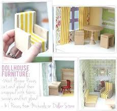 diy doll furniture miniature dolls