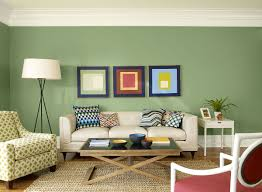 ... Living Room, Paint Colors For Living Rooms With Green Wall And Lamp And  Sofa And