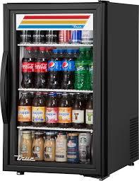 true gdm 06 34 hc tsl01 20 5 1 swing glass door countertop refrigerated merchandiser